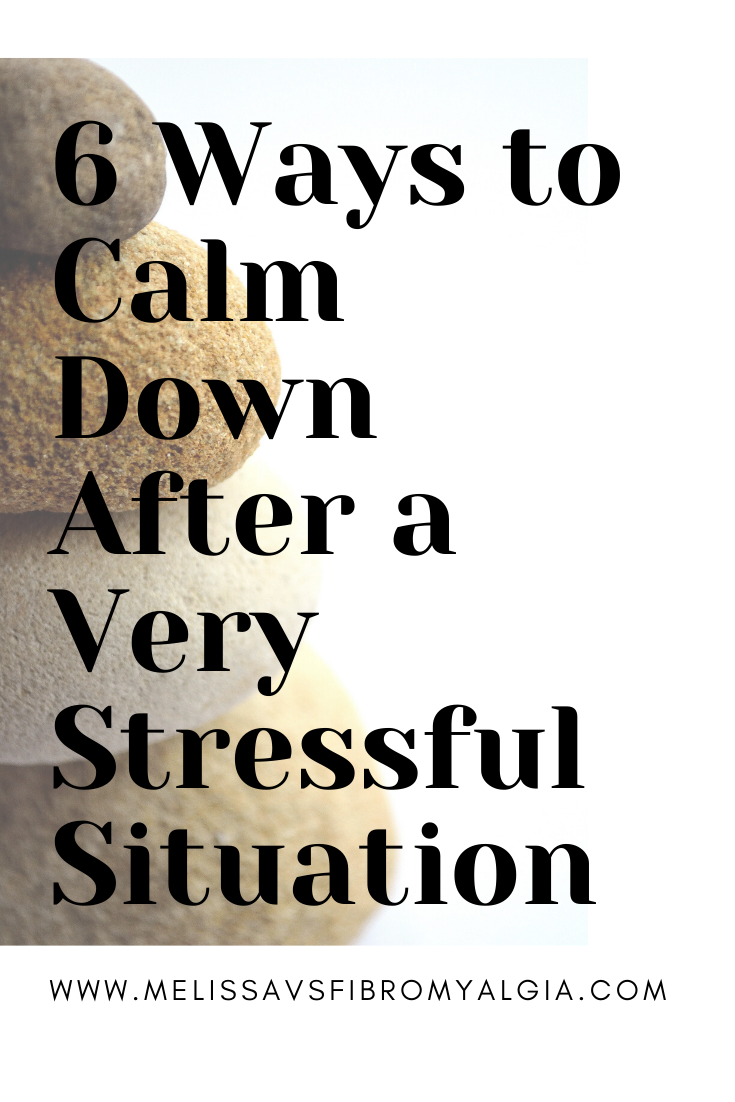 6 ways to calm down after a stressful situation
