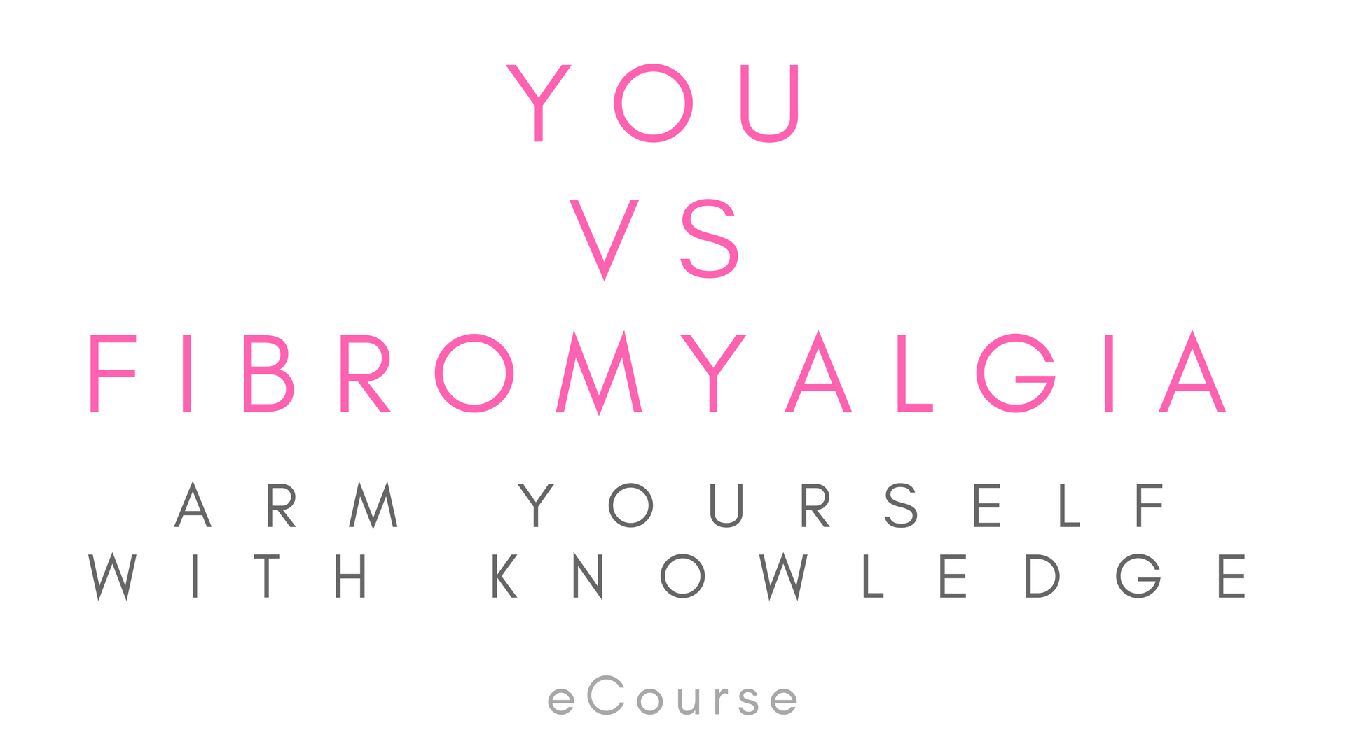 You vs Fibromyalgia Arm Yourself with knowledge