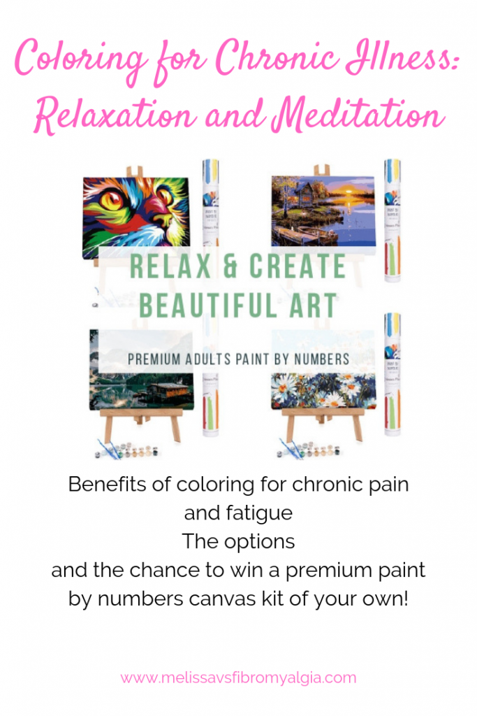 how to color for relaxation and meditation - paint by numbers