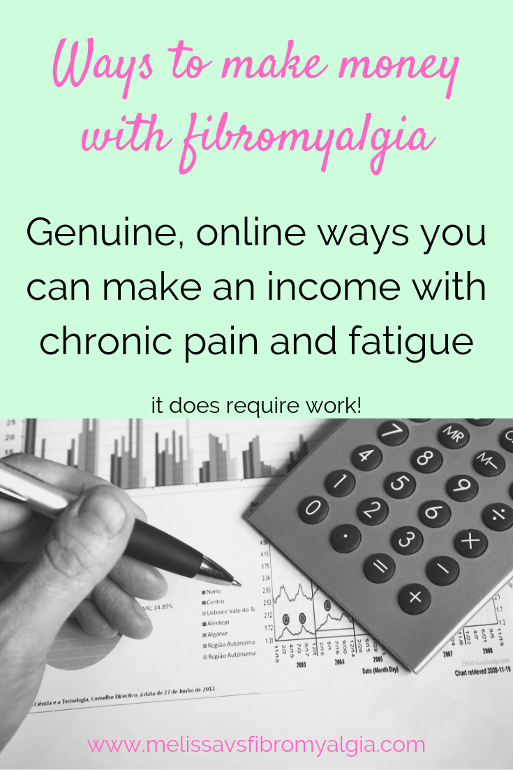 ways to make money online with fibromyalgia