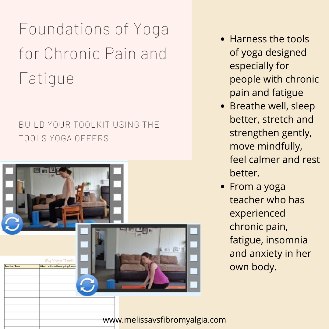 foundations of yoga for the chronic life