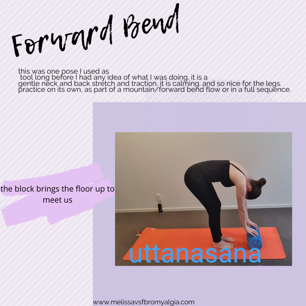 forward fold for fibromyalgia