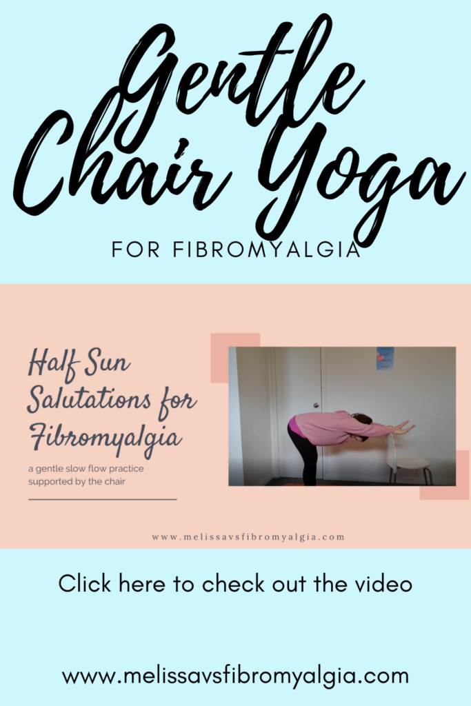 Gentle chair yoga for fibromyalgia