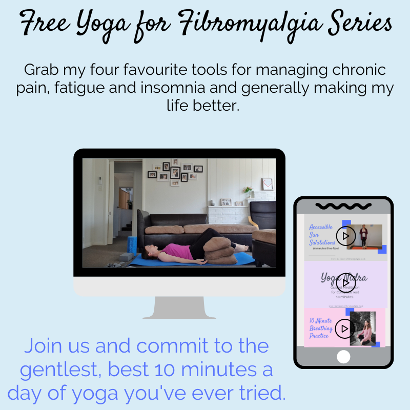 free yoga for fibromyalgia series