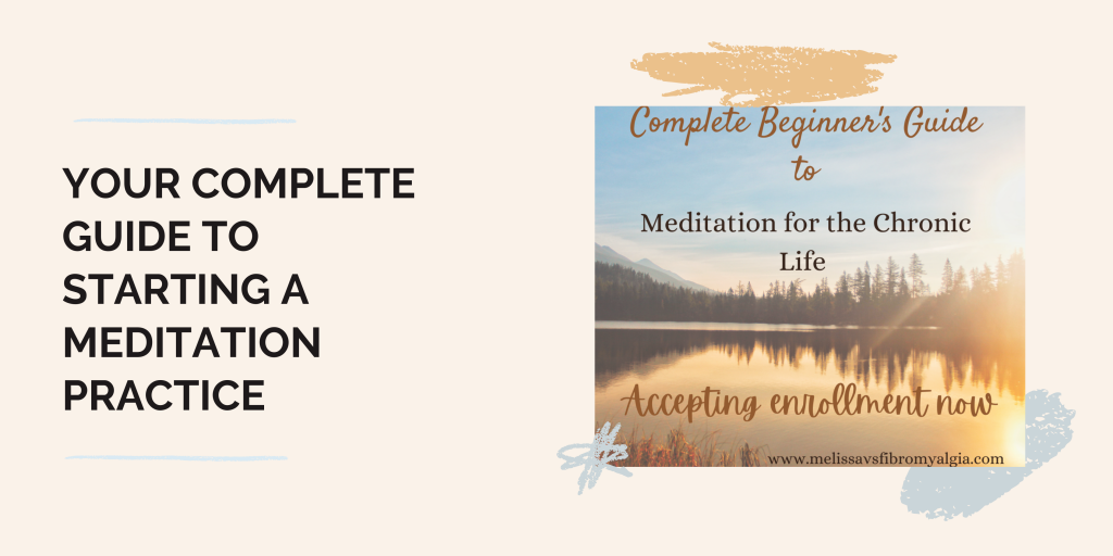 complete beginner's guide to beginning a meditation practice