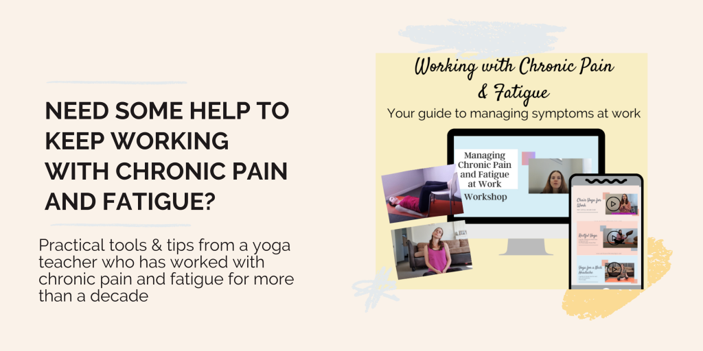 need some help working with chronic pain and fatigue? Join the working with chronic pain and fatigue program